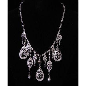 White House Black Market Silver Necklace
